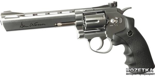 """Пневматичний пістолет ASG Dan Wesson 6"""" Silver (23702501) - зображення 1"""