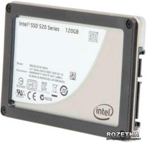 "Intel 520 120GB 2.5"" SATAIII MLC (SSDSC2CW120A310) OEM - изображение 1"