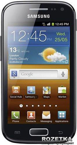 Мобильный телефон Samsung Galaxy Ace II I8160 Onyx Black - изображение 1