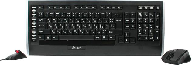 Комплект бездротовий A4Tech 9300F (4711421877435) - зображення 1