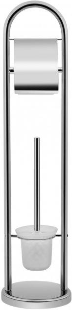 Держатель-стойка для туалетной бумаги LIDZ (CRM)-121.05.07 - изображение 1