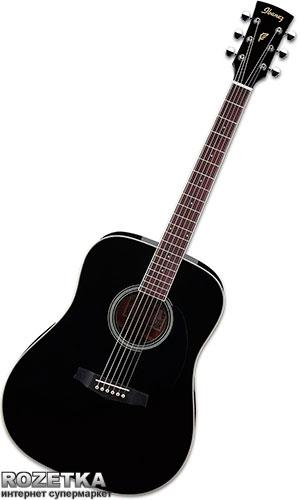 Гитара акустическая Ibanez PF15 (211086) Black - изображение 1