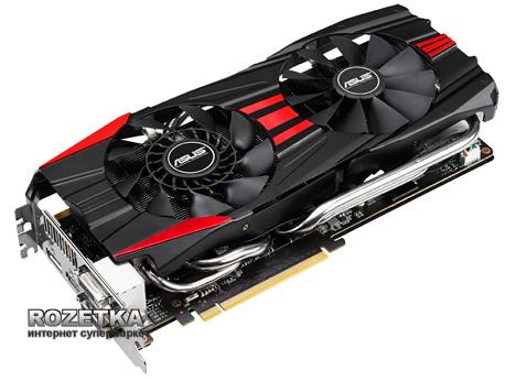 Asus PCI-Ex GeForce GTX 780 DC II 3072MB GDDR5 (384bit) (889/6008) (2 x DVI, DisplayPort, HDMI) (GTX780-DC2OC-3GD5) - изображение 1