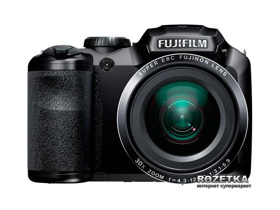 Фотоаппарат Fujifilm FinePix S4800 Black Официальная гарантия! + сумка + карта памяти 16 ГБ! - изображение 1