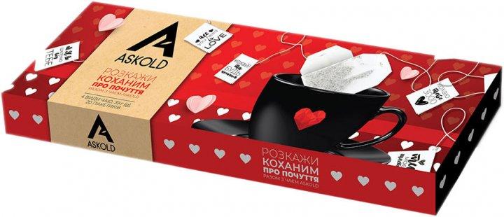 Набір чаю пакетованого Askold Assorti Black 4 види 20 шт. (4820171917862) - зображення 1