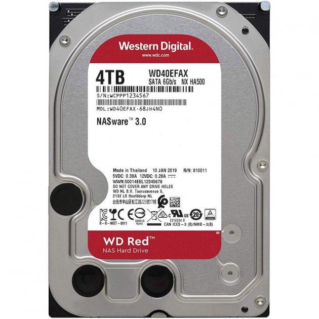 """Жорсткий диск 3.5"""" 4TB WD (WD40EFAX) - зображення 1"""