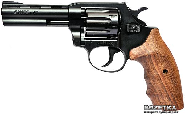 "Револьвер Zbroia Snipe 4"" 17806 (бук)"" (Z20.7.2.006) - зображення 1"