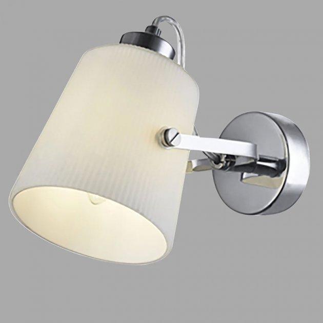 Бра настенное Light House NM-15379/1W CR+WT хром - изображение 1