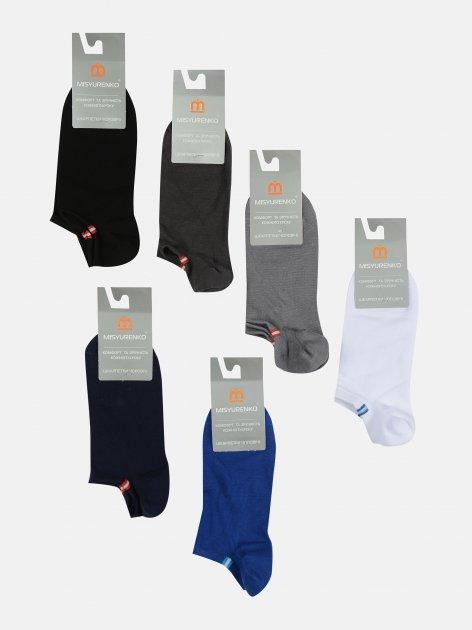 Набор носков Misyurenko М20В123К 35-39 р 6 пар Разноцветный (ROZ6300003122) - изображение 1