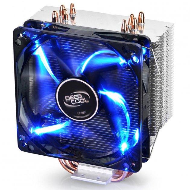 Кулер для процесора Deepcool GAMMAXX 400 V2 BLUE - зображення 1