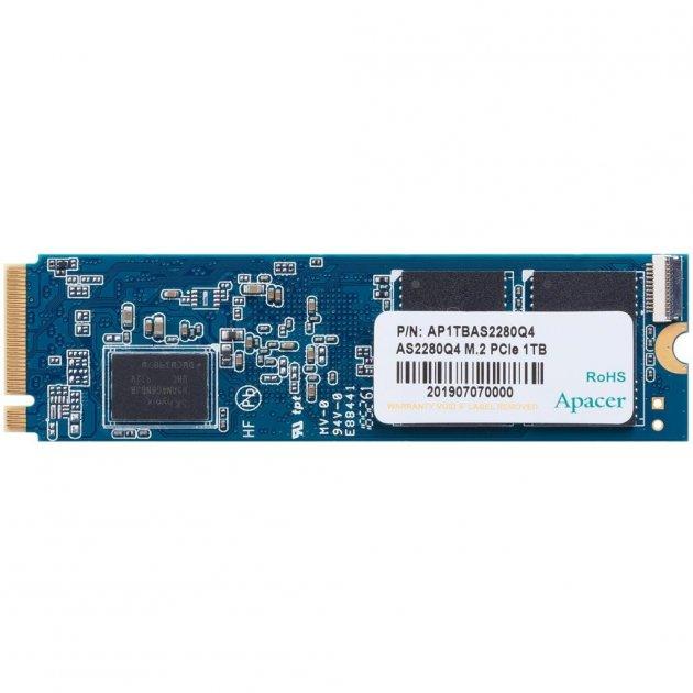 Накопичувач SSD M. 2 2280 1TB Apacer (AP1TBAS2280Q4-1) - зображення 1