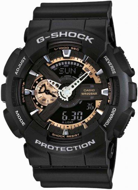 Мужские часы CASIO GA-110RG-1AER - изображение 1