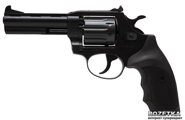 """Револьвер Alfa мод 441 4"""" (вороненный, пластик) 144911/5 (14310045) - зображення 1"""
