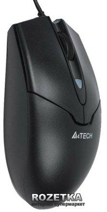 Миша A4Tech N-302 USB Black (4711421902496) - зображення 1