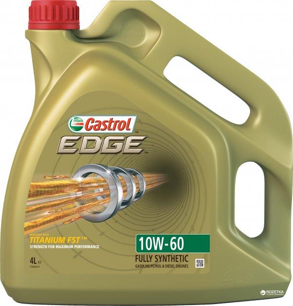 Моторное масло Castrol Edge Titanium FST 10W-60 4 л - изображение 1