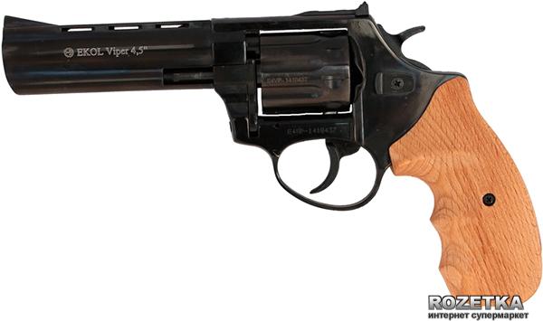 """Револьвер Ekol Viper 4.5"""" Black (бук) - изображение 1"""