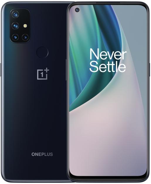 Мобильный телефон OnePlus Nord N10 6/128GB Midnight Ice - изображение 1