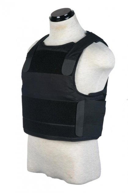 Бронежилет Pantac SVS Soft Armor Cover BA-T018 (PACA Body Armor) Чорний - зображення 1