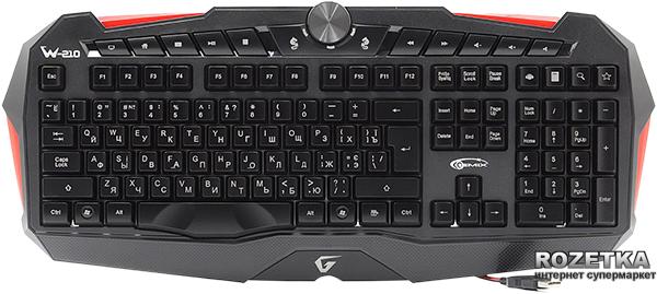 Клавиатура проводная Gemix W-210 USB - изображение 1