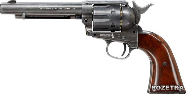 Пневматический пистолет Umarex Colt Single Action Army 45 Brown (5.8307) - изображение 1