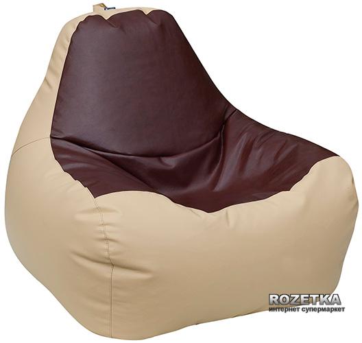 Крісло-Груша Примтекс Плюс Simba H-2201/H-002 M Beige-Brown - зображення 1
