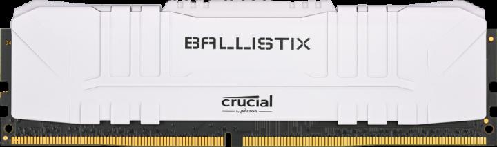 Оперативна пам'ять Crucial DDR4-2666 8192 MB PC4-21328 Ballistix White (BL8G26C16U4W) - зображення 1