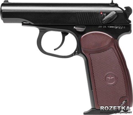 Пневматичний пістолет KWC Makarov Blowback (KMB44AHN) - зображення 1
