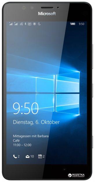 Мобильный телефон Microsoft Lumia 950 Dual Sim Black + док-станция в подарок! - изображение 1
