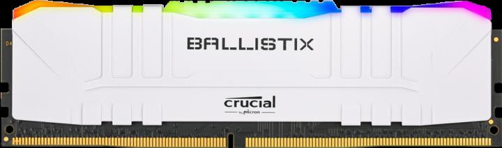 Оперативная память Crucial DDR4-3000 16384MB PC4-24000 Ballistix RGB White (BL16G30C15U4WL) - изображение 1