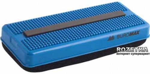 Губка для сухостираемых досок BUROMAX 118 x 54 x 26 мм 1 шт Синий (BM.0071)
