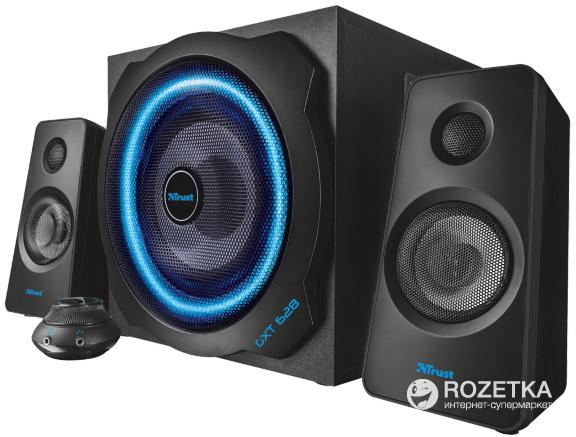 Акустическая система Trust GXT 628 2.1 Illuminated Speaker Set Limited Edition Black (TR20562) - изображение 1