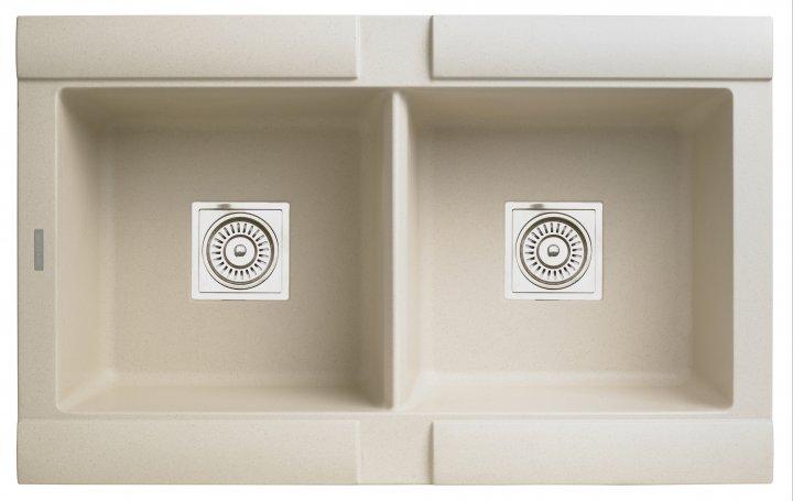 Кухонна мийка LONGRAN GEO 2.0 B бежева (Sahara Beige) - зображення 1