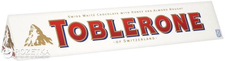 Шоколад Toblerone Білий 100 г (7614500010310) - зображення 1