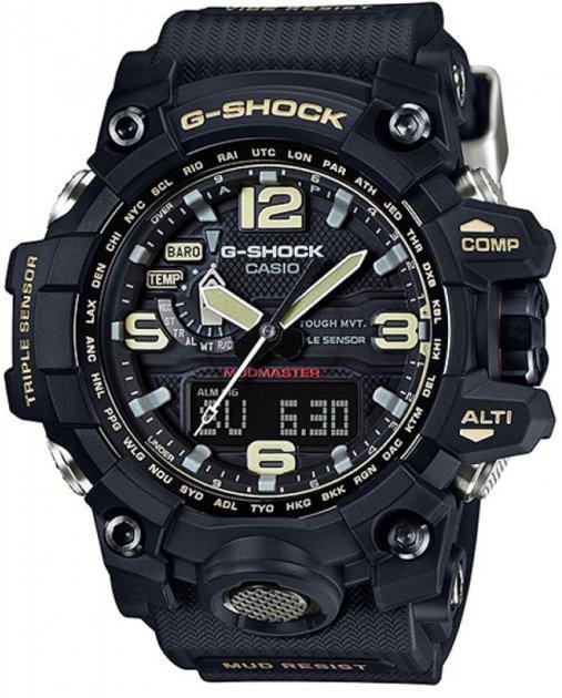 Чоловічий годинник CASIO GWG-1000-1AER - зображення 1