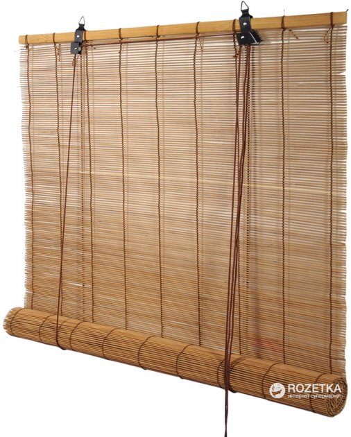 Бамбуковая ролета Деко-Сити Асуан 90x160 см Кофе (20239090160) - изображение 1