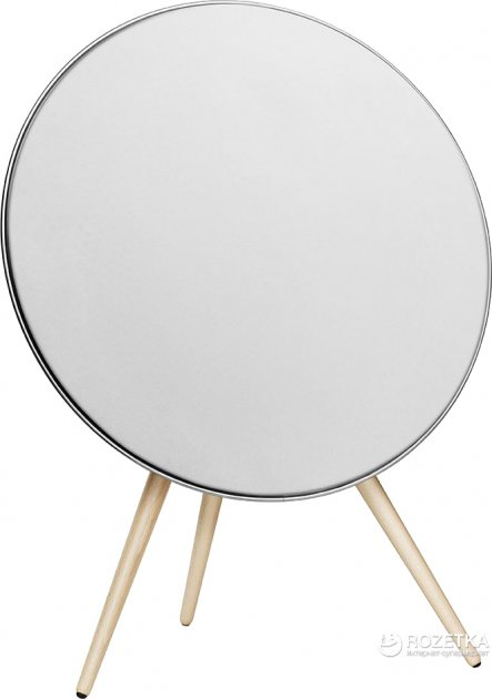 Акустична система Bang & Olufsen BeoPlay A9 White, incl. front cover, maple legs (2890-19) - зображення 1