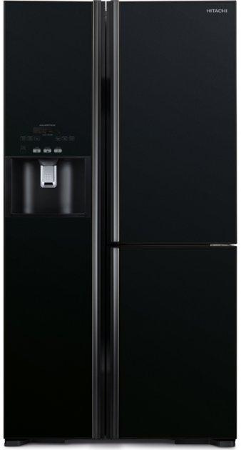 Side-by-side холодильник HITACHI R-M700GPUC2GBK + Бесплатная доставка по Украине! - изображение 1
