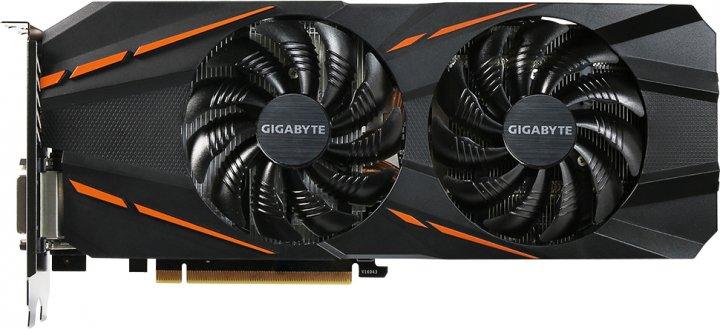 Gigabyte PCI-Ex GeForce GTX 1060 G1 Gaming 6GB GDDR5 (192bit) (1594/8008) (DVI, HDMI, 3 x DisplayPort) (GV-N1060G1 GAMING-6GD) - изображение 1