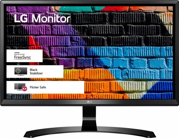 """Монітор 23.8"""" LG UltraFine 24UD58-B - зображення 1"""