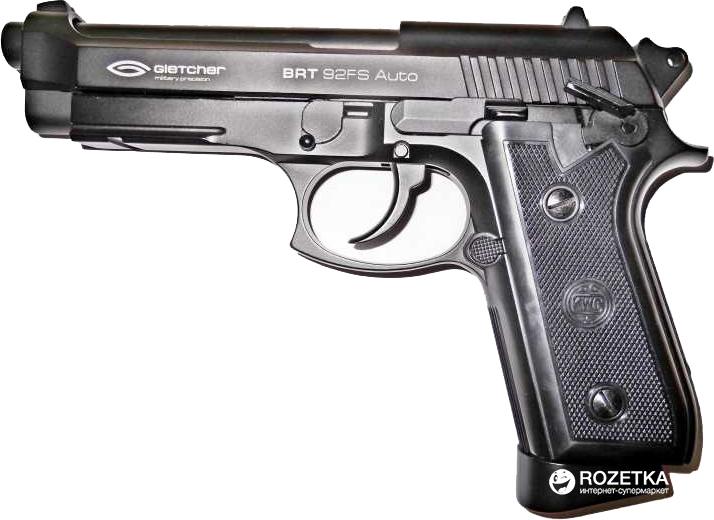 Пневматичний пістолет Gletcher BRT 92 FS AUTO (41958) - зображення 1