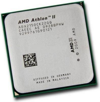 Б/У, Процесор, AMD Athlon II X2 215, ADX215ОСК, 2,7 GHz, 2 core, 2Mb, 65W, 4000MHz sAM2+, АМ3 - зображення 1