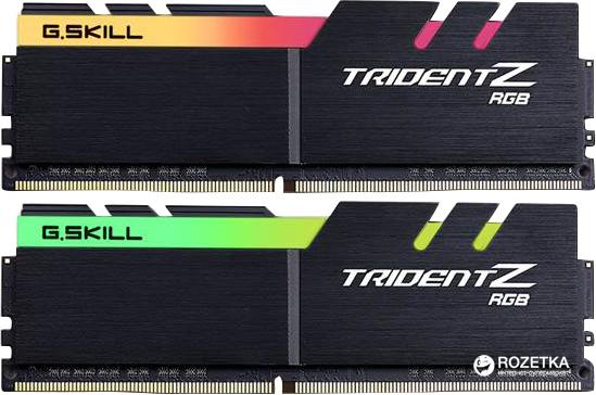 Оперативна пам'ять G.Skill DDR4-4266 16384MB PC4-34128 (Kit of 2x8192) Trident Z RGB (F4-4266C19D-16GTZR) - зображення 1