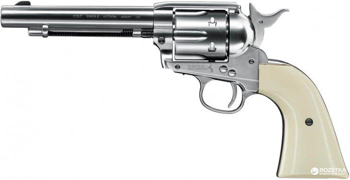 Пневматический пистолет Umarex Colt Single Action Army 45 White (5.8322) - изображение 1