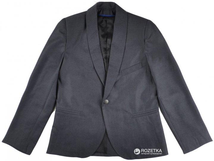 Пиджак Timbo Endy 140 см 36 р Темно-серый (P029504_140) - изображение 1