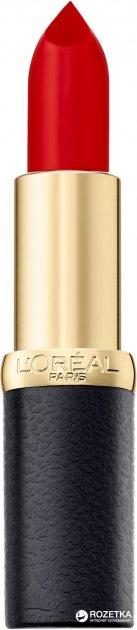 Помада для губ L'Oréal Paris Color Riche Matte 4.5 мл 346 Scarlet silhoue (3600523402052) - изображение 1