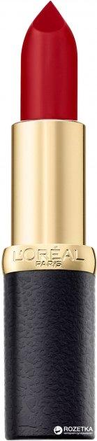 Помада для губ L'Oréal Paris Color Riche Matte 4.5 мл 349 Paris cherry (3600523402076) - изображение 1