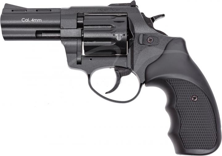 """Револьвер флобера STALKER S 3 """". Матеріал рукояті - пластик Black - изображение 1"""