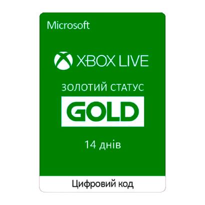 Microsoft Xbox Live Gold на 14 днів - зображення 1
