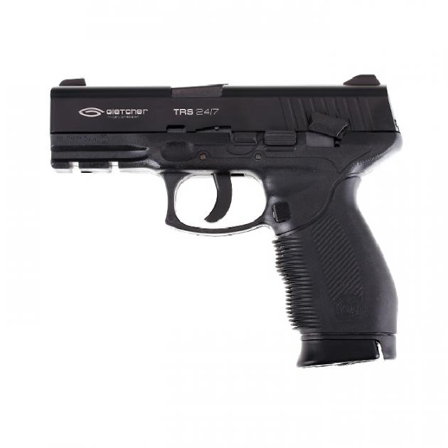 Пневматичний пістолет Gletcher TRS 24/7 Taurus PT 24/7 Таурус газобалонний CO2 130 м/с - зображення 1