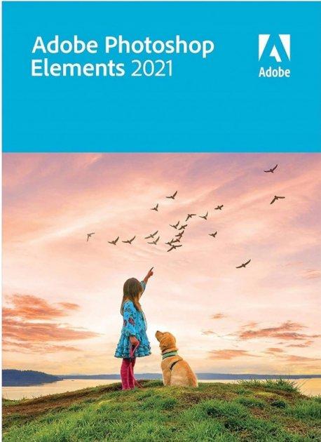 Adobe Photoshop Elements (безстрокова ліцензія на оновлення для комерційних організацій), версія 2021 International English Upgrade License 1 ліцензія 1 ПК (65312768AD01A00) - зображення 1